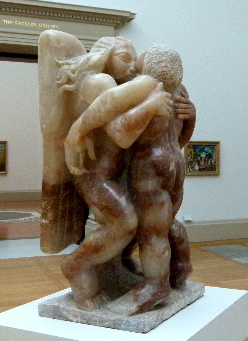 Jacob and the Angel Jacob Epstein 19401 Tate Britain