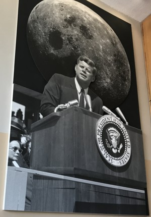 Kennedy and moon